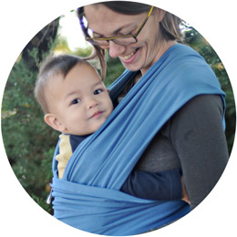 bcfbeac2be1 Moby Wrap Classic Moss - Baby Carriers - Ava s Appletree Canada